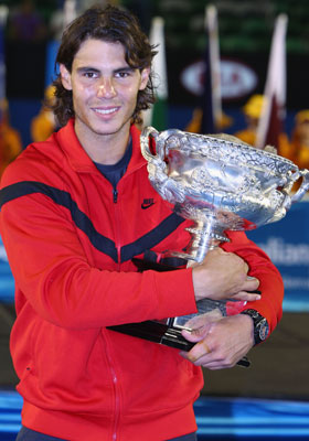 2009 Australian Open Men's Champion - Rafal Nadal