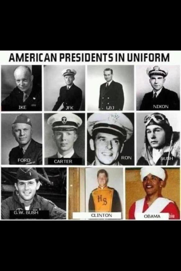 AmericanPresidentsInUniform