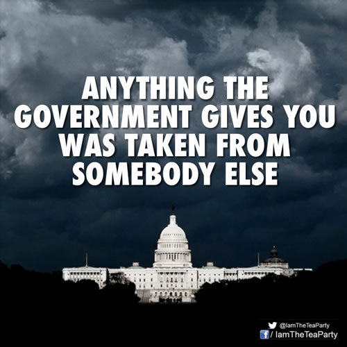 anything-government-gives-you