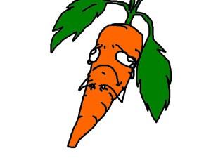 sad carrot