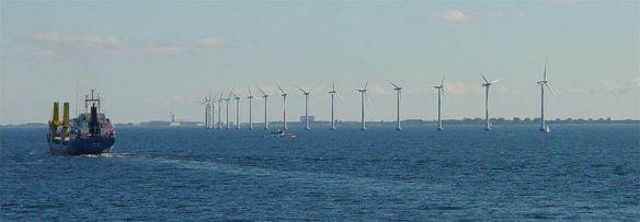 Middelgrunden offshore wind park Source: Wikimedia
